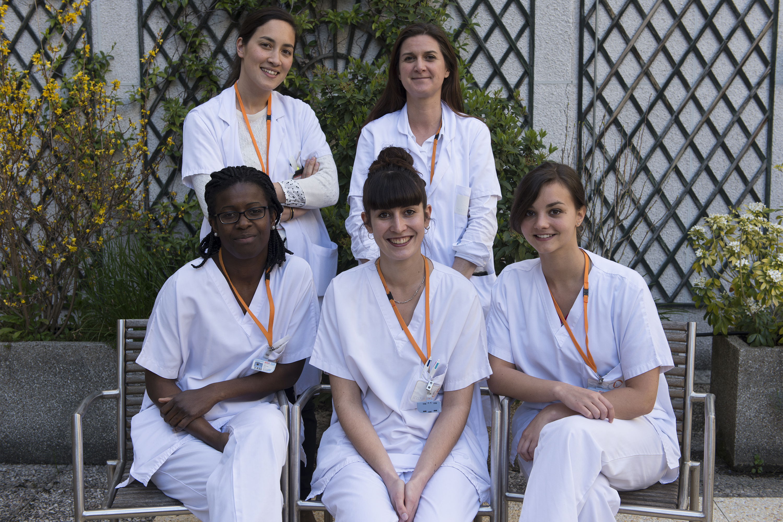 Les soignants de l'Institut Curie