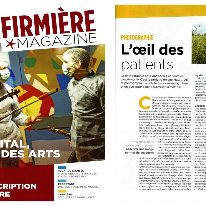 L'oeil des patients – L'Infirmière Magazine