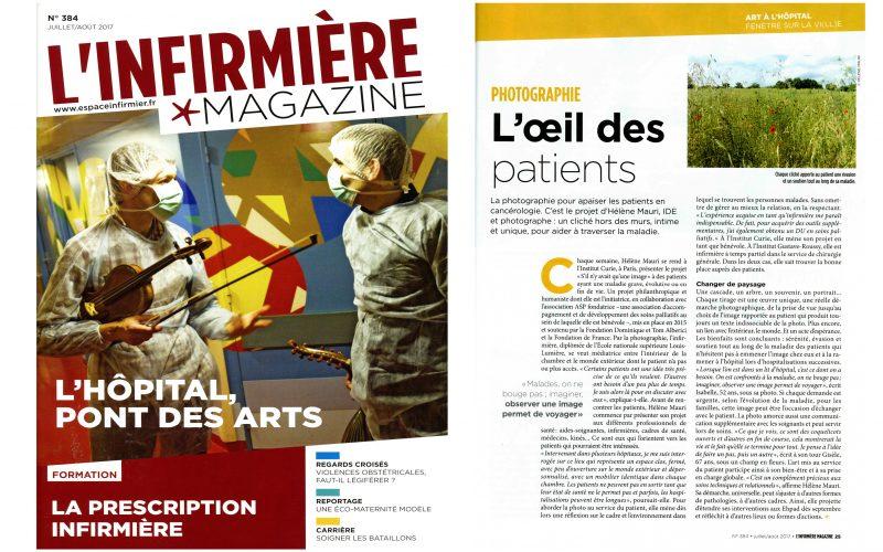 L'oeil des patients - l'Infirmière Magazine
