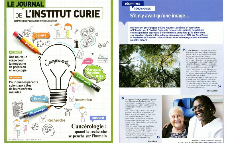 Le Journal de l'Institut Curie