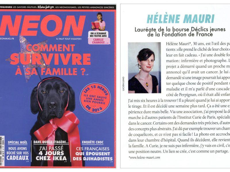 Les Héros de l'Année – Magazine NEON