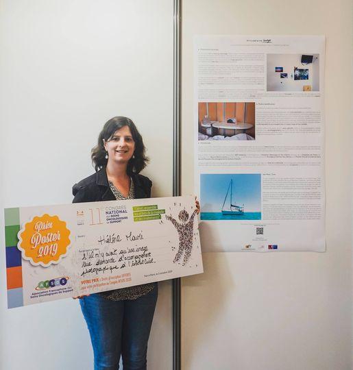 Hélène Mauri, Lauréate du Prix Poster du Congrès de l'AFSOS
